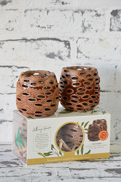 Scentsational Flowers - Gifts Banksia Candle Holders