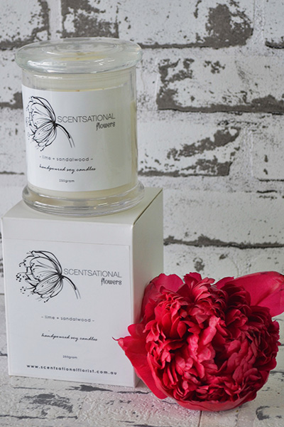 Scentsational Flowers - Soy Candles