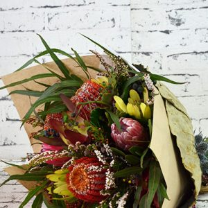 Scentsational Flowers - Flowers Native Posy with Gift Wrap