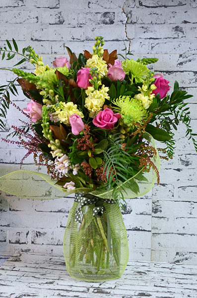 Scentsational Flowers - Mixed Bouquet Pastel in Vase