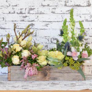 Scentsational Flowers - Garden Box Flower Arrangement