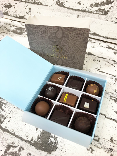 Scentsational Flowers - Ministry of Chocolate - Praline Gift Boxes