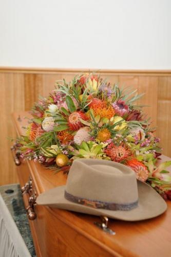 58.Casket flowers Native