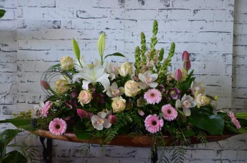 35.Garden casket pastels